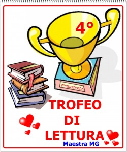 trofeo lettura 4 classificato