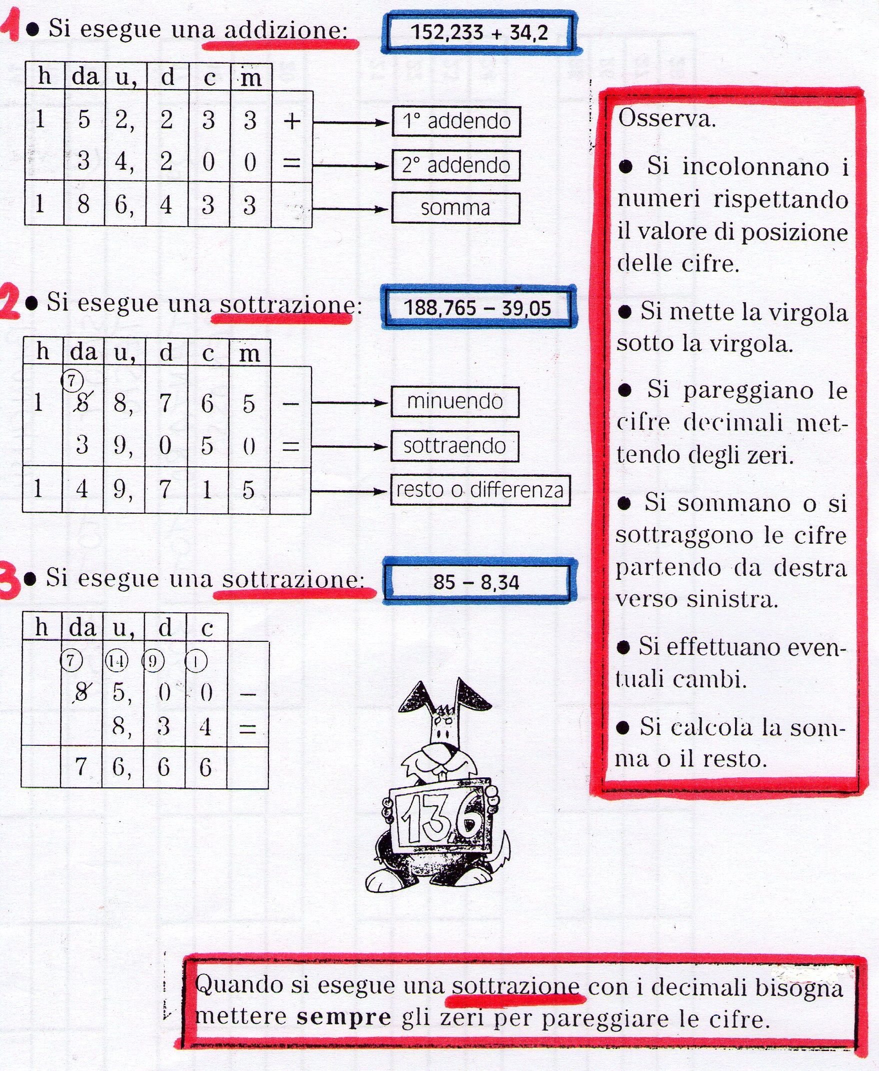 Ben noto Quarta classe - MATEMATICA | MAESTRA MG MAESTRA MG GJ67