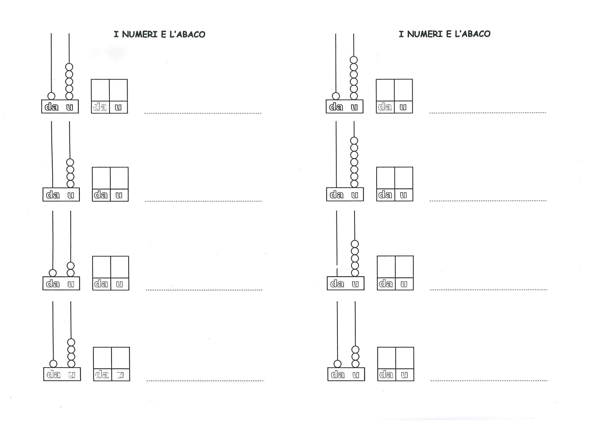 Exceptionnel Prima classe - MATEMATICA | MAESTRA MG MAESTRA MG QZ78
