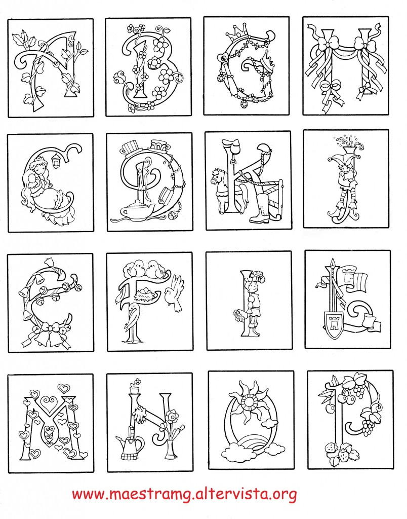 lettere miniate