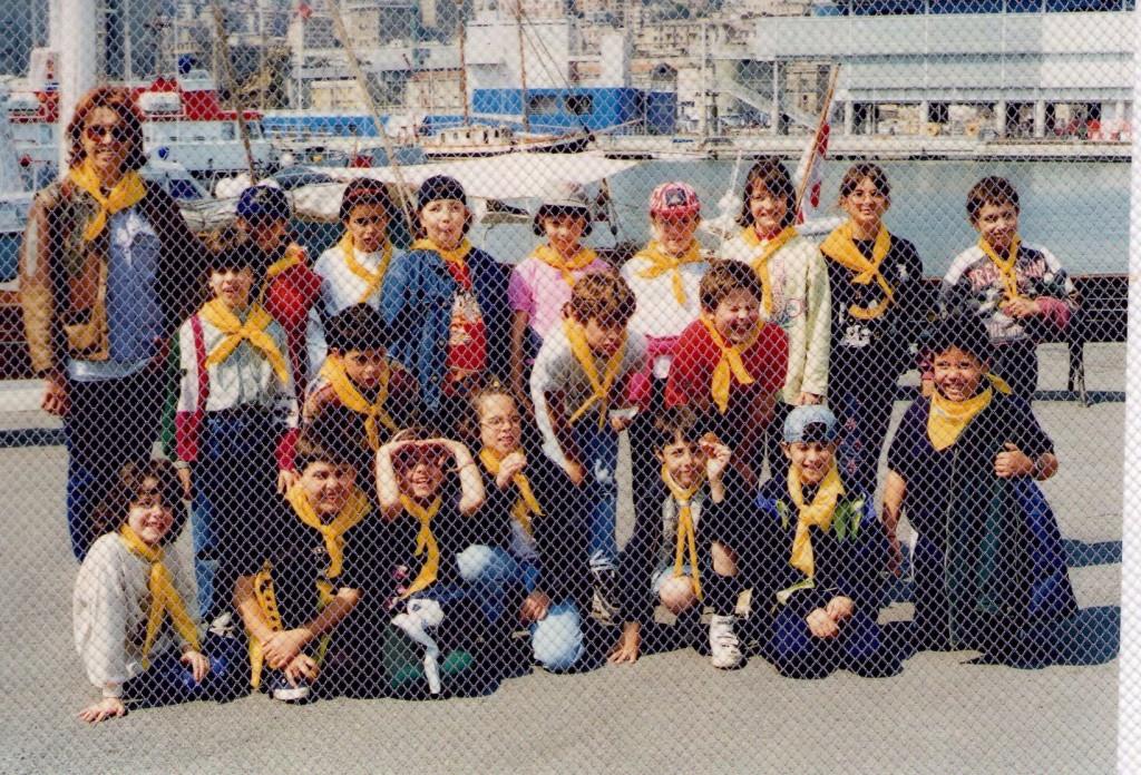 24-4-1997 gita a Genova 3^B