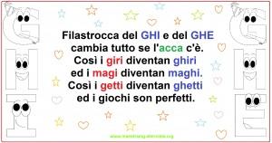 filastrocca GHI GHE2