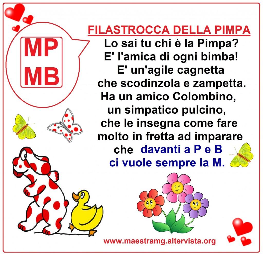 filastrocca della PIMPA    MP MB