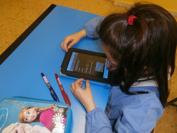 Tablet in classe