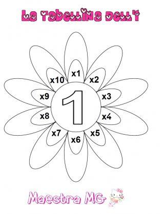 Fiore tabelline 1